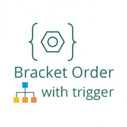 bracket order with trigger price