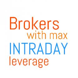 maximum intraday leverage discount brokers