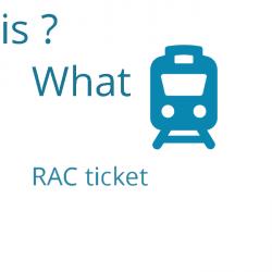 what is rac ticket , Indian Railways